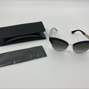 Moschino Black Cat Eye Sunglasses New
